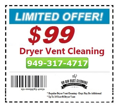 dryer vent cleaning coupon dr oc